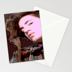 Stylized Geisha Stationery Cards