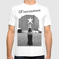 Star-Lite Coke Mens Fitted Tee White SMALL