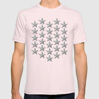 Yet Another Field Mens Fitted Tee Light Pink SMALL