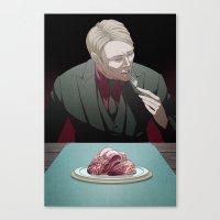 Remarkable Boy (Hannibal Lecter) Canvas Print