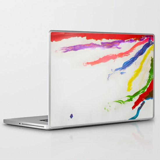 Rainbow of color Laptop & iPad Skin