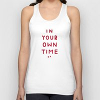 In Your Own Time Unisex Tank Top