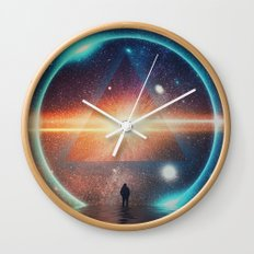 seeing the lights Wall Clock