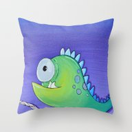 Creatch: Meet Carlton Throw Pillow