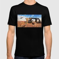 The Wedding Mens Fitted Tee Black SMALL