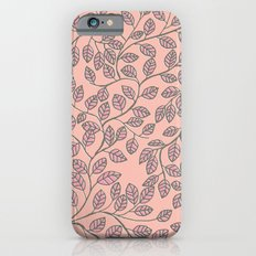 leafy pattern Slim Case iPhone 6s