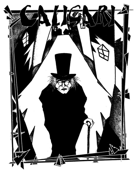 Dr. Caligari Canvas Print