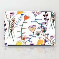 Flowers - floral - flowers - pattern  iPad Case