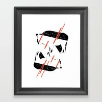 Buffalo Tandem Radar Framed Art Print