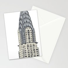 Scraper Series. New York 001 Stationery Cards