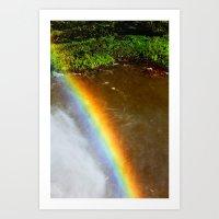 Somewhere Under the Rainbow Art Print