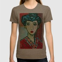 LADY MATISSE IN TEEN YEA… Womens Fitted Tee Tri-Coffee SMALL