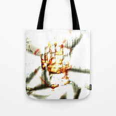 Trace of the hand Tote Bag