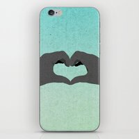 Heart Hands iPhone & iPod Skin