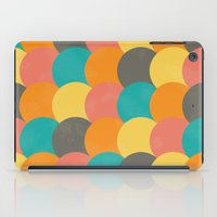 Bright Decaying Scales iPad Case