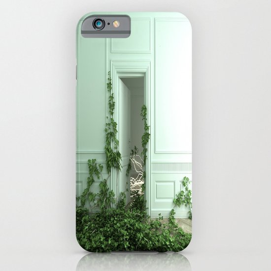 Creeping ivory iPhone & iPod Case