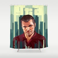 The Godfather, GTA 5 Mic… Shower Curtain