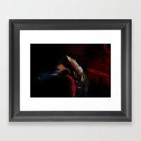 Leaning Toward The Sunsh… Framed Art Print