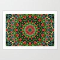 Wednesday Kaleidoscope Art Print