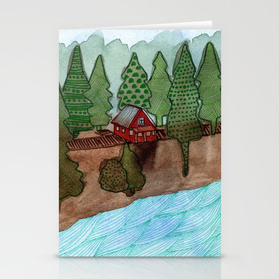Landscapes / Nr. 8 Stationery Card
