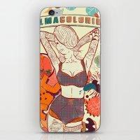 Alma Colorida iPhone & iPod Skin