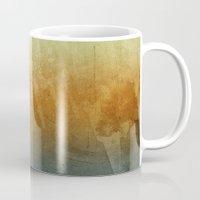 Earthy Water Color Abstract Mug