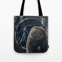 Solar Owl Jupiter  Tote Bag