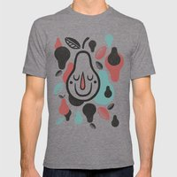 Pears Mens Fitted Tee Tri-Grey SMALL
