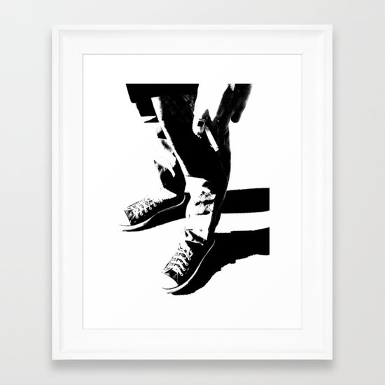 Indie Rock Framed Art Print
