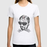 R.K.PRINT Womens Fitted Tee Ash Grey SMALL