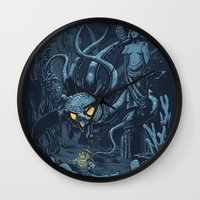 Defender of the Deep  Wall Clock
