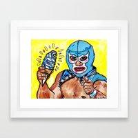 Don't Take My Ice Cream Framed Art Print