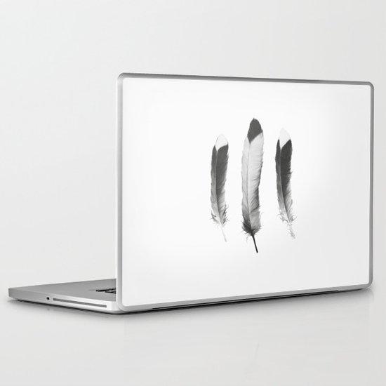 Feathers Sketch Laptop & iPad Skin