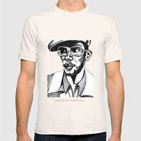 Mighty Mos Def Mens Fitted Tee Natural SMALL