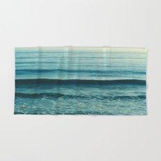 beach waves. Somewhere  Hand & Bath Towel