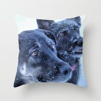 2 Is Better Throw Pillow