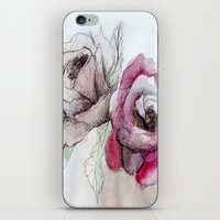 Flowers I iPhone & iPod Skin
