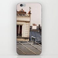 Paris Rooftop #1 iPhone & iPod Skin