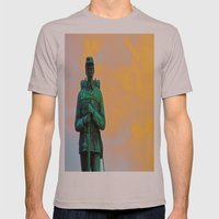 A Soldier's Sunset Mens Fitted Tee Cinder SMALL