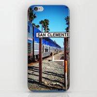 San Clemente Surfliner iPhone & iPod Skin