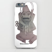 iPhone & iPod Case featuring Monkey Bomb  by William Vincent Tedesco