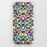 Aztec Geometric Reflection I iPhone 6 Slim Case