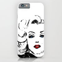 iPhone & iPod Case featuring Marilyn M by Suzanne Kurilla