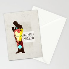 Suit of Armor : Iron Man Stationery Cards