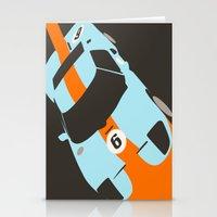 Orange Notch - Ford GT40… Stationery Cards