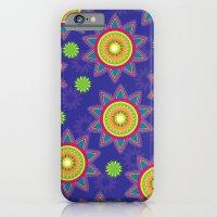 Moroccan Flower Purple iPhone 6 Slim Case