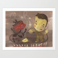 Salsa De Tomate Art Print