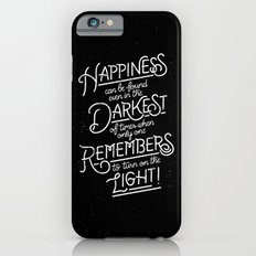 Happiness can be found iPhone 6 Slim Case