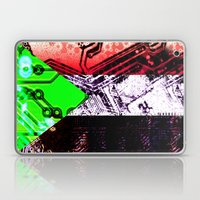 Sudan Circuit Board (fla… Laptop & iPad Skin