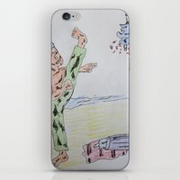 Bootleg Series: Ninja Su… iPhone & iPod Skin